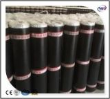 Membrane imperméable à l'eau bitumeuse auto-adhésive renforcée par HDPE