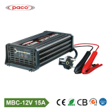 Lader van de Lader van de Batterij van de Auto van 7 Stadia van Ce de Draagbare 15A 12V