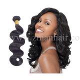 Onda del corpo Clip-nell'estensione dei capelli per la donna africana