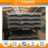 Extrusion en aluminium industrielle industrielle faite sur commande pour le radiateur