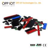 Frota do metal da freqüência ultraelevada de RFID mini que segue o Tag RoHS do OEM da posição