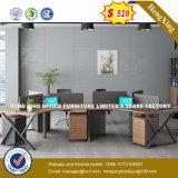 Moderne Sitzbüro-Partition des Büro-Möbel-Melamin-Holz-4 (HX-8N2643)