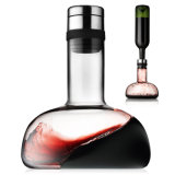 Venda por grosso de whisky de vidro do decantador de vinho de cristal de vidro do decantador de óleo no decantador Carafe