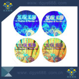 3D de alta calidad Seguridad etiqueta holograma láser personalizado