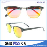 Óculos de sol italianos da etiqueta confidencial do frame do estilo Tr90 com Tac polarizados