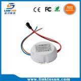 driver di figura rotonda LED di 70-82V 240-260mA 18W 20W per l'indicatore luminoso di soffitto