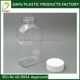 Bonne qualité 300ml Plastique Bouteille PET rectangulaire médecine