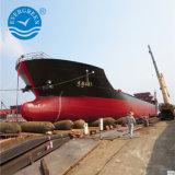 Barco marino Airbag de goma para la nave de levantamiento de lanzamiento