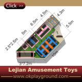 De populaire Nieuwe Trampoline Van uitstekende kwaliteit van het Bed van het Ontwerp Binnen (b1501-6)