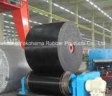 Nylon RubberdieTransportband in Yokohama China wordt gemaakt