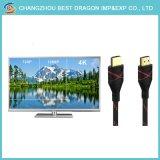Ethernet de alta velocidad de 2160p 4k 3D 2m 5m 10m grueso cable HDMI