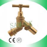 Rubinetto d'ottone del bottaio dell'impianto idraulico del colpetto adatto d'ottone del tubo flessibile