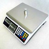 Escala computacional de pesaje electrónica del precio