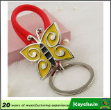 Gift를 위한 형식 Colorful Guitar Shape Keychain