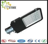 Luz ao ar livre da estrada do diodo emissor de luz da manufatura 50W da luz de rua do diodo emissor de luz de Shenzhen, lâmpada de rua do diodo emissor de luz