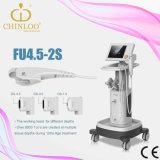 Fu4.5--elevador de cara de 2s Hifu até a máquina da beleza de Hifu para a remoção do enrugamento