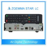 Real TV TV por cabo Box DVB C com IPTV Zgemma-Star LC