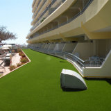 装飾のための人工的な草のカーペットを美化する25mmの高さ18900の密度Leou10