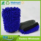Multifuncional Chenille Coral Fleece Waterproof Car Wash Mitt