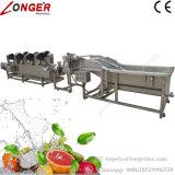 Wasmachine van het Roestvrij staal van Commerical de Automatische Plantaardige