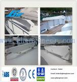 Прямой палубный судовой кран корабля заграждения