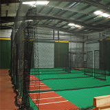 Fabrik-Großverkauf kundenspezifische Baseball-Sperren-Netze mit beweglichem Beutel