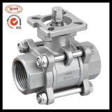 """공 벨브 Q11f-16 고급장교 또는 무쇠 또는 강철 또는 탄소 강철 또는 스테인리스 (1/4 """" - 4개 """")"""