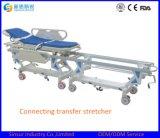 의학 새로운 디자인 비상사태 사용 병원 연결 수송 들것