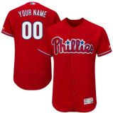 Ha personalizzato tutto il nome qualunque no. Qualsiasi accumulazione autentica Jersey della base della flessione di Filadelfia Phillies dei capretti delle donne degli uomini di marchio della squadra