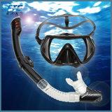 스노클 가면 고정되는 잠수 기어 단 하나 렌즈 Frameless 잠수 가면