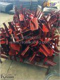ビーム型枠のコンクリートのためのフォークのヘッドジャッキの調節可能な足場Forkhead