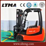 Ltma manueller hydraulischer elektrischer Gabelstapler des Gabelstapler-1.5t 3-Wheel
