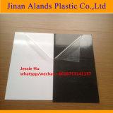 Hoja interna 0.3-2m m del negro del PVC del álbum blanco de la espuma con las caras dobles pegadas