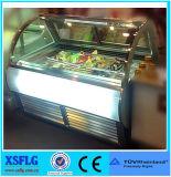 Xsflg Gelato italien Ice Cream Display Cabinet Freezers (CE approuvé) - B7