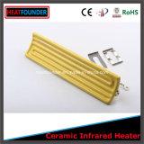 Amarillo de cerámica de alta Temeprature Far Infrared calentador de infrarrojos