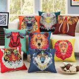La tela spessa del cotone ha stampato la cassa decorativa 150g del cuscino di manovella del coperchio dell'ammortizzatore del sofà