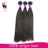 100%年のバージンのRemyのブラジルの絹のまっすぐな人間の毛髪の拡張