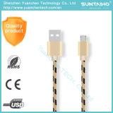 Câble de caractéristiques micro de remplissage rapide du téléphone mobile USB pour le téléphone d'androïde de Samsung