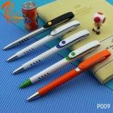 Bolígrafo de plástico promocional con papel de estudiante