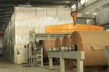Macchina ad alta velocità di fabbricazione di carta di uso del pacchetto del contenitore di scatola di carta del cartone ondulato