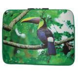 La impresión completa de moda el patrón de aves de la bolsa de portátil de neopreno (FRT1-166)