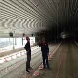Vorfabrizierter Geflügel-Stall mit volles Set-Geflügel-landwirtschaftlichen Maschinen