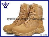 高品質の本革の軍の戦闘用ブーツか砂漠ブートまたは戦術的なブート(SYBY-31001A)
