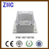명확한 덮개 플라스틱 PVC 상자 전자공학 공간 전자를 위한 전기 접속점 상자 중국 울안 상자