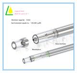 Penna a gettare di Cbd Vape del tubo di Pyrex GLS per l'olio spesso di Cbd con la bobina di ceramica nessuno stoppino