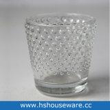 Kleiner Punkt-Art-Raum-Glaskerze-Halter