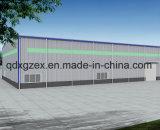 Estrutura de aço pré-fabricados para o depósito