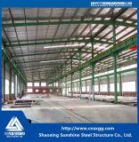 Almacén prefabricado modificado para requisitos particulares del taller de la estructura de acero