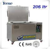 Angespanntes Ultraschallreinigungsmittel mit 2 Becken-Edelstahl SUS 304 Ts-S800