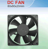 Постоянного тока вентилятора охладителя ЦП. Размер 80*80*20мм с маркировкой CE&Сертификация UL.
